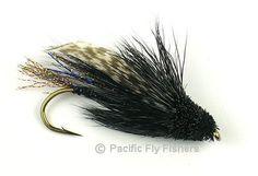 Steelhead Muddler - Black  Pacific Fly Fishers