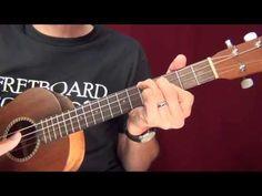 Baritone uke strums and picking styles - YouTube