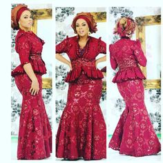 On-Trend and Up-To-Date Aso-Ebi Fashion Styles - Wedding Digest Naija