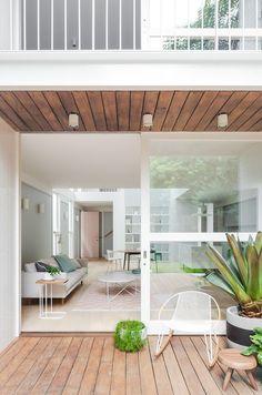 Backyard Sliding Door Decor