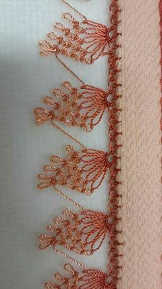 "İğne oyaları ""This post was discovered by Elm"" Filet Crochet, Crochet Motif, Irish Crochet, Crochet Lace, Needle Tatting, Needle Lace, Bobbin Lace, Hand Embroidery Flowers, Embroidery Stitches"