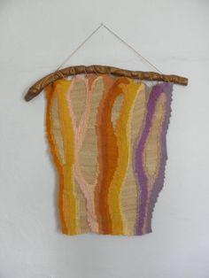 Handmade Woven Textile Wall Hanging by Silvia Hara by SilviaHara, $200.00