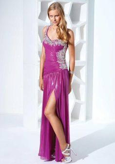 Terani Dress P1515 at Peaches Boutique