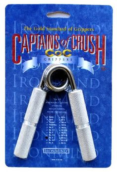 Captains of Crush Hand Gripper for only $19.95