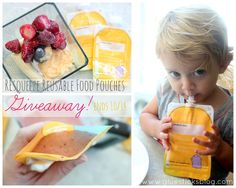 These are a huge money saver. I make homemade smoothies and baby food and fill them up for my toddler. Recipes too on the link.