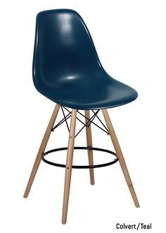 reproduction premium de célèbre charles eames dsw tabouret - bleu ... - Copie Chaise Eames Dsw