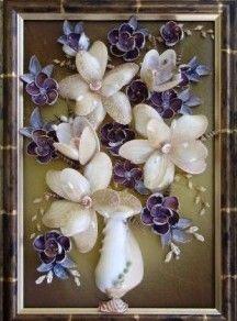 seashell craft idea on Pinterest