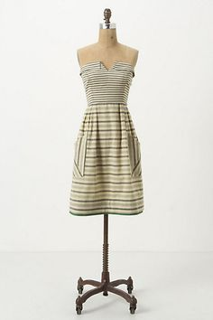 Changing Stripes Dress - Anthropologie.com So cute :]