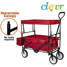 New Clevr Collapsible Folding Outdoor Utility Wagon Red ** Read more reviews of the product  sc 1 st  Pinterest & Yescom 10.8x10.8 Outdoor Waterproof Gazebo Canopy Top Replacement ...