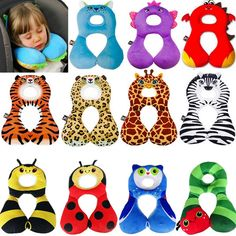 2016 New PP Cotton Total support headrest Baby Pillow Protect Neck Cushion adjust Children Sleep pillows Bedding For Girl/boy