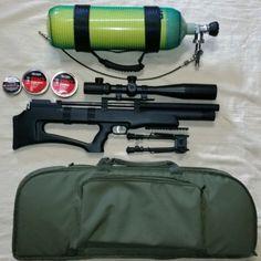 PCP Air Rifle: SPA P12 Bullpup complete