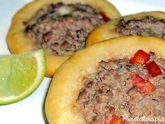 Esfiha Aberta ~ PANELATERAPIA - Blog de Culinária, Gastronomia e Receitas