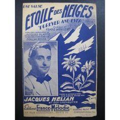 Etoile-des-Neiges-Jacques-Helian-Chanson-Partition-Sheet-Music-Spartiti-Partitu