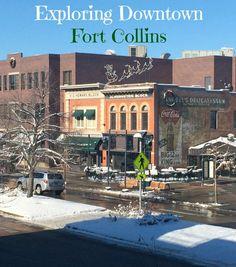 Exploring Downtown Fort Collins Colorado