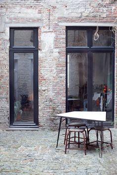 Black Mullions On Pinterest Window Black Window Frames And Floors