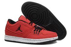 reputable site 19caf cf494 Jordan 1 Flight Low Infrared 23 University Red Black Hot Sale Cheap Jordans  For Sale,