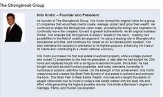 Strongbrook Founder - Kris Krohn