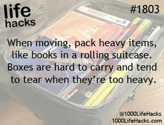 Plus, you won't have to pack up the suitcases.