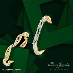 #BANGLECOLLECTION  For instant admiration, raise your hand.  Reliance Jewels Be The Moment. www.reliancejewels.com #reliance #reliancejewels #indianjewellery #beautiful #bridal #neverendingtrend #bethemoment #beyou