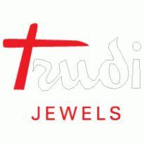 TRUDI JEWELS Logo. Get this logo in Vector format from https://logovectors.net/trudi-jewels-1/