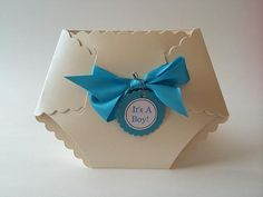 Its a Boy Diaper Card Baby Shower Invitation by TinyInvites, $2.25