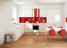 fancy Kitchen Cabinets, Table, Furniture, Home Decor, Fancy, Red, Decoration Home, Room Decor, Cabinets
