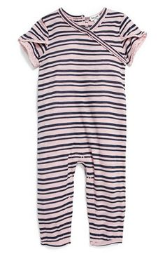 Splendid Stripe Romper (Baby Girls) available at #Nordstrom