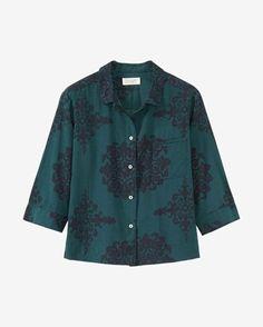 Women's Heze Print PJ Shirt