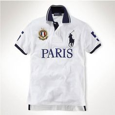 Ralph Lauren Custom-Fit Big Pony City Polo Paris Cheap Ralph Lauren Polo,  Mens 0a7ef01f6146