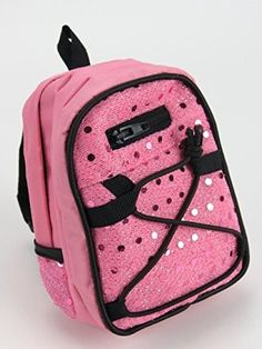 Sequin Backpack, 3 Colors