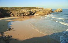 Playa de La Huelga en Llanes,playas de Asturias
