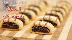 Biscotti all'amarena: La video ricetta di Mehl Channel Italian Cookies, Italian Desserts, Italian Recipes, Biscotti Cookies, Galletas Cookies, Mary Berry Desserts, Frangipane Tart, Yummy Cakes, I Love Food