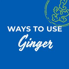 Ginger is such a versatile way to add spice and flavor to lots of styles of food. Learn just some of them here-