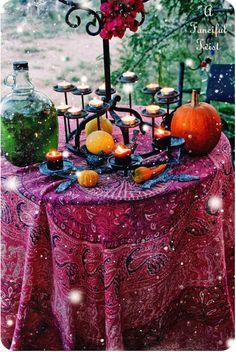 Samhain dinner