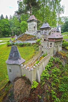 Park Boheminium (miniatures) - Marianske Lazne, Czech Republic Eastern Europe, Hot Springs, Czech Republic, Trip Advisor, Beautiful Places, Castle, European Countries, Mansions, House Styles