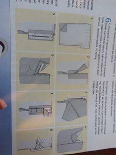 обработка гульфика в ж брюках