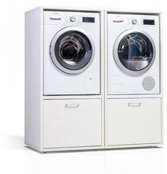 Wastoren.nl Laundry Room Pedestal, Laundry Room Bathroom, Laundry Room Cabinets, Laundry Room Design, Interior Design Living Room, Living Room Designs, Clarendon Homes, Garage Apartments, Practical Life