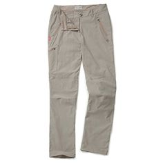 Craghoppers Womens Nosilife Pro Trousers Mushroom US 12UK 16 ** Check out the image by visiting the link.