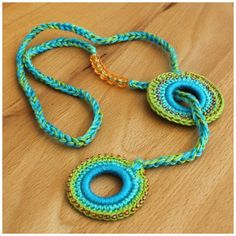Crocheted Necklace