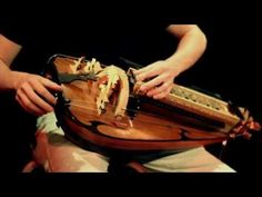 French musician Guilhem Desq electrified his hurdy gurdy and connected it to a sampler to create these amazing sounds