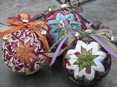 quitled ornaments