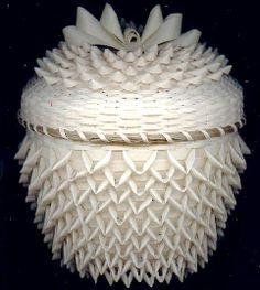 Mohawk thistle basket