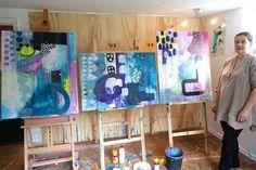 Privatkurs i abstrakt maleri