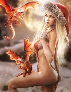 , Fantasy Woman + Dragons Fan-Art by shibashake on DeviantArt Fantasy Women, Fantasy Art, Wolf, Cg Art, Dragon Art, Pin Up Art, Dark Beauty, Fairy Tales, Anime Art
