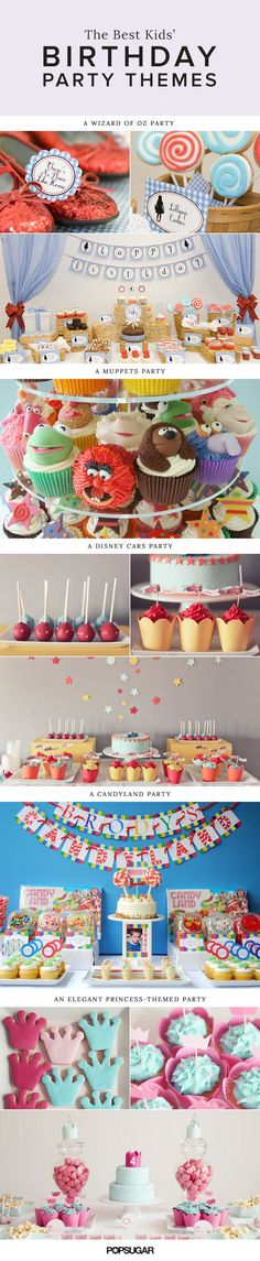 120 Kids' Birthday Party Themes to Celebrate Your  Child's Big Day #coolglow #partysupplies