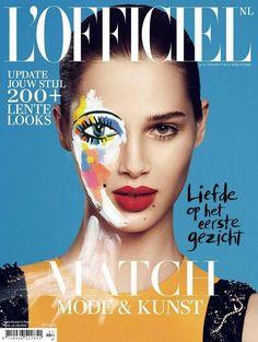Anais Pouliot - L'Officiel Netherlands February 2014 Cover