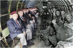 A long time ago, in a Airborne drop far, far away... Operation Overlord, Tuesday june 6, 1944 - D-Day!
