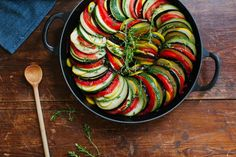 Keep Your Heart Happy with These Healthy French Recipes French Ratatouille Recipe, Traditional Ratatouille Recipe, French Vegetables Recipe, Vegetable Ratatouille, Vegetable Stew, Vegetable Dishes, Vegetable Recipes, Chicken Recipes, French Dinner Parties