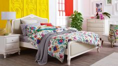 Home :: Bedroom :: Beds :: Bed Frames :: Amore Bed Frame with Fabric