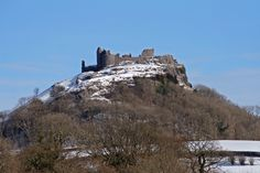 Carreg Cennen Castle, possible site in Arthurian Legend belonging to King Urien Rheged, Queen Morgan, and their son Owain...:  Enchanted Towy